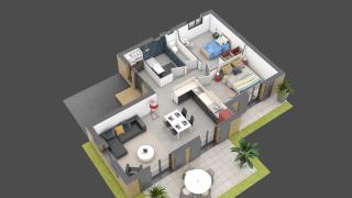 appartement A01 de type T3
