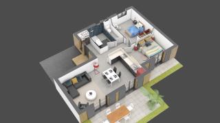 appartement A03 de type T3