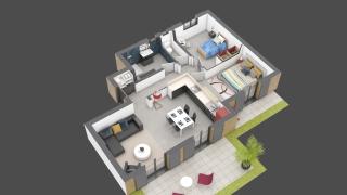 appartement A04 de type T3