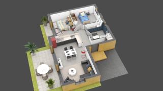 appartement B02 de type T3