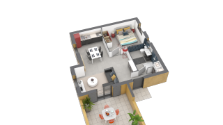 appartement B11 de type T3