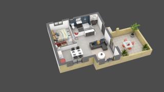 appartement C11 de type T3