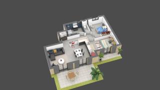 appartement E02 de type T3