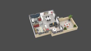appartement E12 de type T2