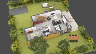 maison ARGENTELLA de type T4