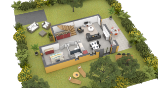 maison REVELLATA de type T4