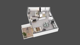 appartement B103 de type T2