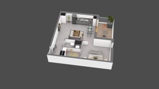 appartement B210 de type T2