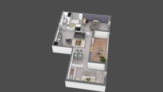 appartement B211 de type T2