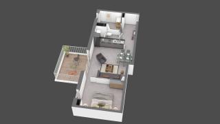 appartement B307 de type T2