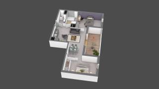 appartement B310 de type T2