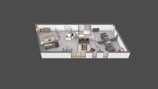 appartement B401 de type T4