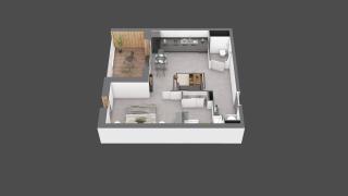 appartement B403 de type T2