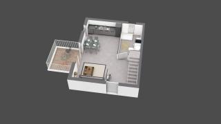 appartement B602 de type T4