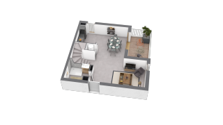 appartement B603 de type T4