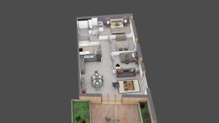 appartement C201 de type T4