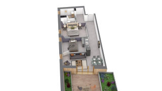 appartement C202 de type T3