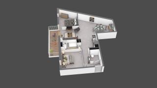 appartement C204 de type T3