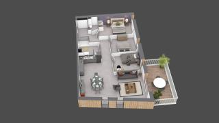 appartement C301 de type T4