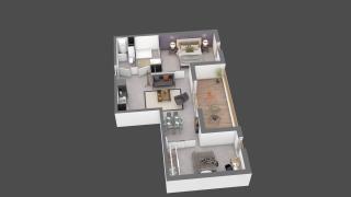 appartement C306 de type T3