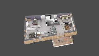 appartement C501 de type T4