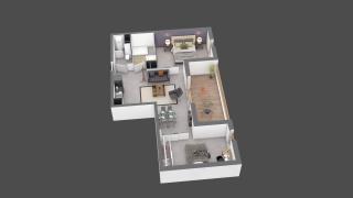 appartement C505 de type T3
