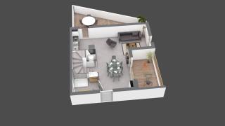 appartement C603 de type T4